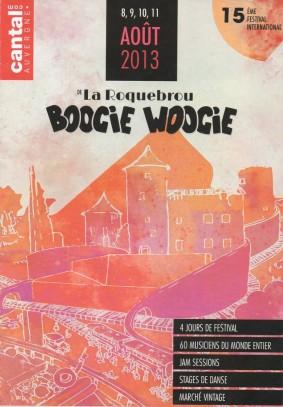 Festival de Boogie Woogie à La Roquebrou 2013
