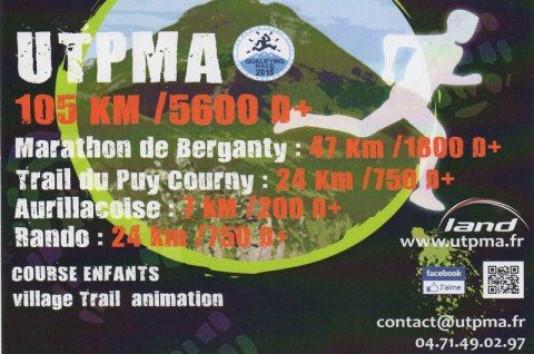 UTPMA Aurillac Puy Mary Cantal 2014