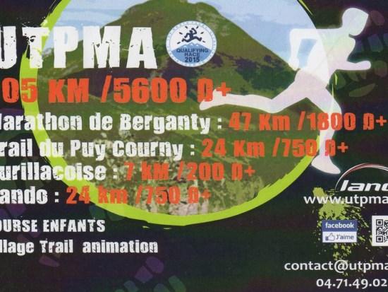UTPMA Aurillac Puy Mary Cantal 2014