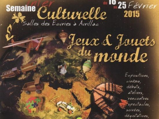 Semaine Interculturelle 2015