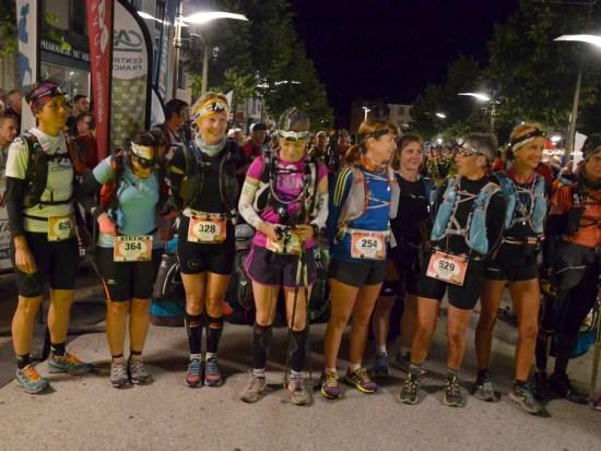 Les féminines de l'épreuve 105 Km du Trail UTPMA