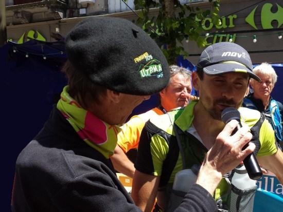 UTPMA 2015 Pierre Laurent Viguier vainqueur de l'Ultra Trail
