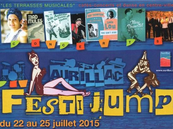 Festi Jump Terrasses Musicales Aurillac 2015