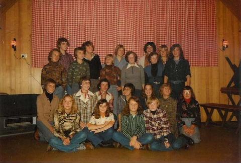 Dansles bij de KPJ in 1976. ( Foto Annie van Neerven )