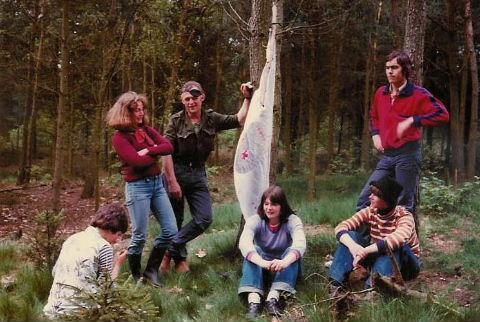 KPJ kamp 1977 ( Foto Annie van Neerven )