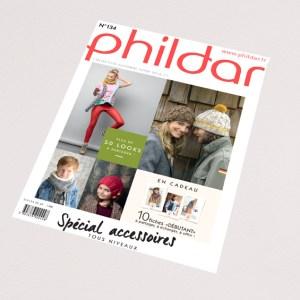 N° 134 PHILDAR 2016-2017Catalogue accessoires