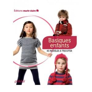Marie Claire basiques enfants 40 modèles à tricoter 2012