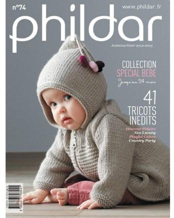 b25a6c986bea Catalogue N° 74 PHILDAR bébé automne-hiver 2013 PDF