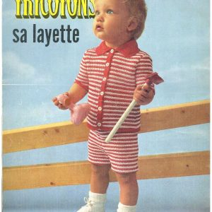 Collection les doigts agiles TRICOTONS sa Layette 1970_page_0017