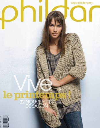 N° 16 PHILDAR femme printemps année 2009 PDF