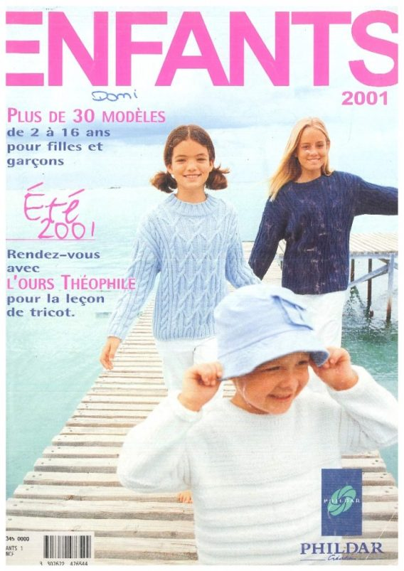 Catalogue Phildar N° 345 été 2001 PDF