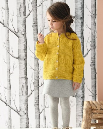 Modèle gilet XL enfant Lambswool