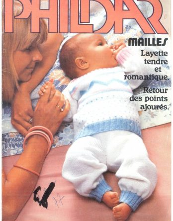 N° 56 PHILDAR layette année 1977_page_0001