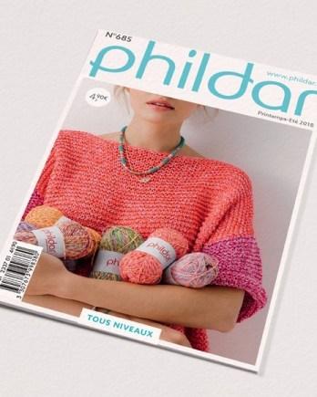 Catalogue n°685 PHILDAR  Looks Multico Femme printemps été 2018