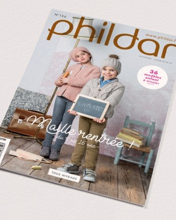 N° 156 PHILDAR MAILLE RENTREE AUTOMNE-HIVER 2018-2019 2