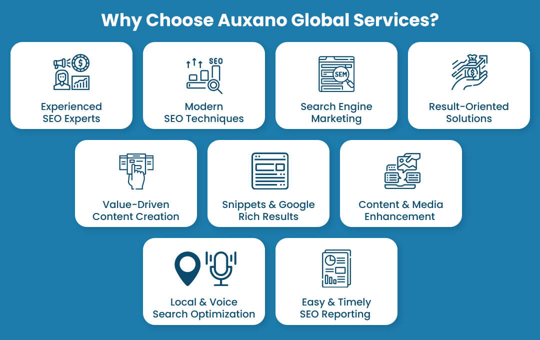 Why Choose Auxano Global Services?