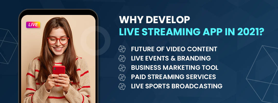 Why Develop Live Streaming App in 2021