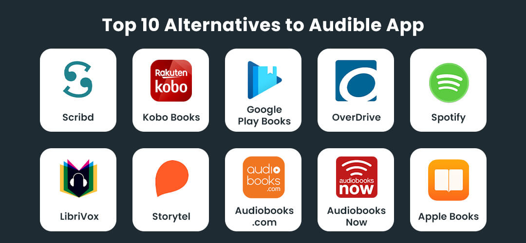 Top 10 Alternatives to Audible App