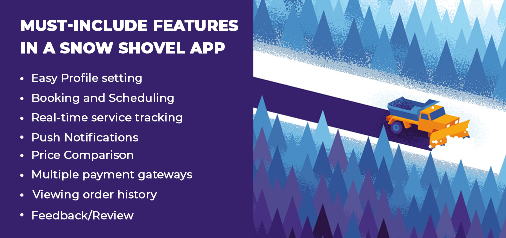 Top Snow Plowing App Development Company   Snow Plowing App Developer For Hire