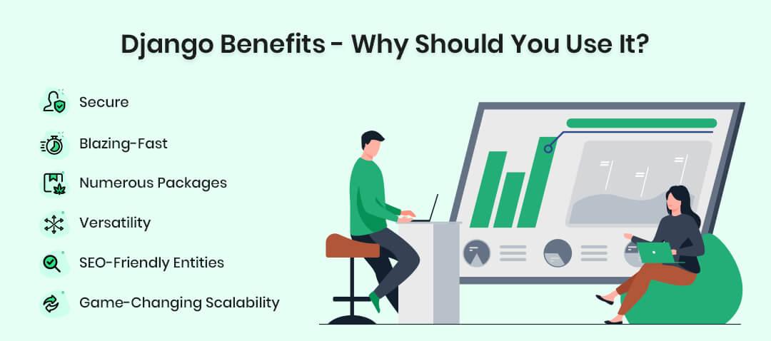 Django Benefits - Why Should You Use It?