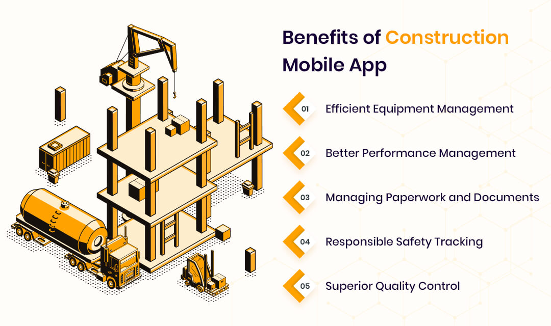 Benefits of Construction Mobile App