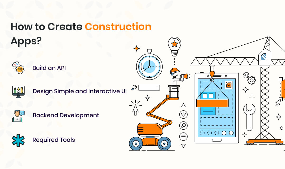 How to Create Construction Apps?