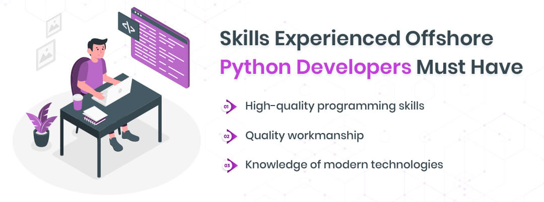 Skills experienced offshore Python developers must have