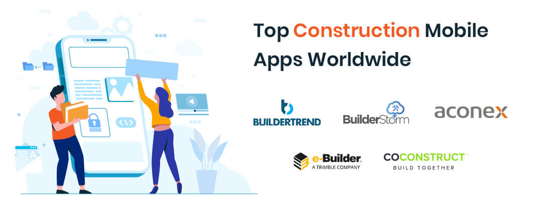 Top Construction Mobile Apps Worldwide