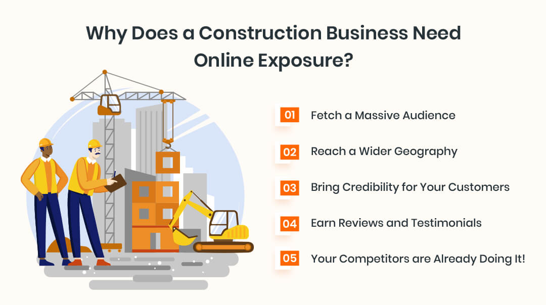 Why Does a Construction Business Need Online Exposure?
