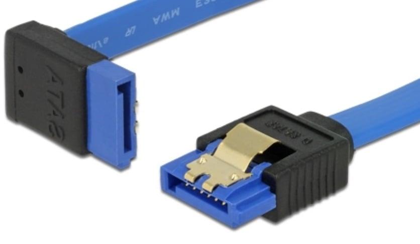 Vinklet SATA 600 kabel
