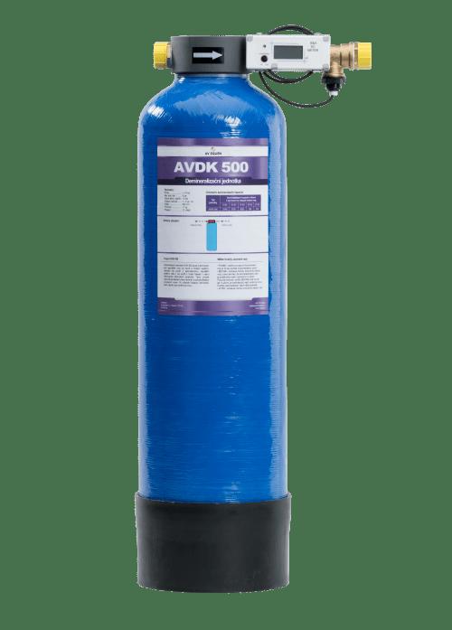 AVDK 500: Demineralizační jednotka k demineralizaci napouštěcí vody
