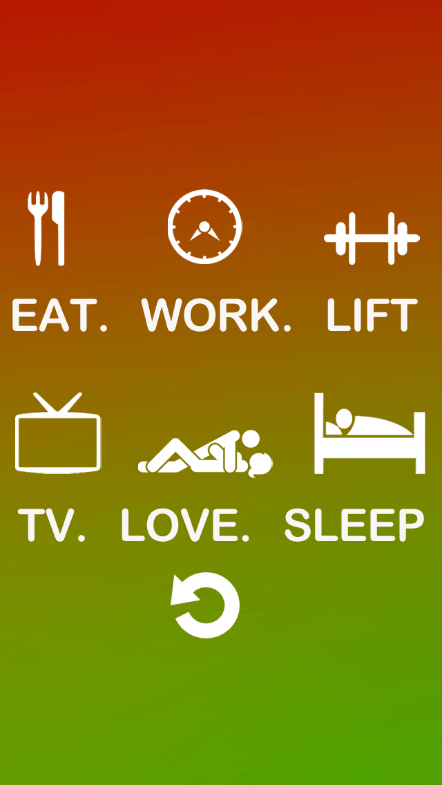 Gym Quotes Wallpaper Hd 60 Typography Iphone Wallpapers Download For Free