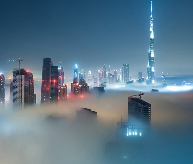 Financial District Chicago Street Iphone  Wallpaper Foggy Dubai Skyline Iphone  Plus Hd Wallpaper