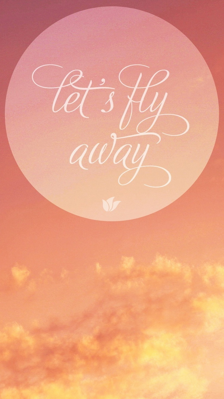Peter Pan Quote Iphone Wallpaper 60 Typography Iphone Wallpapers Download For Free