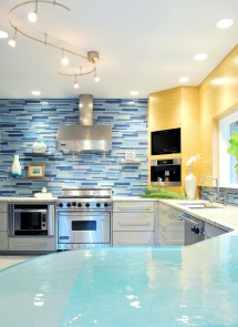 Blue Modern Kitchen Design Ideas