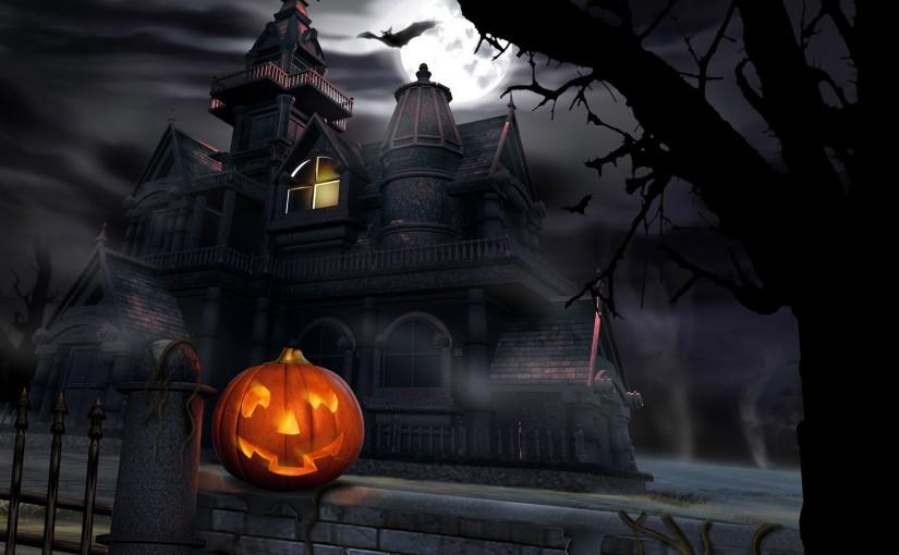 Cat In Fall Wallpaper Halloween Wallpaper Give Your Desktop Also Spooky Look