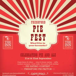Bath's first pie festival proved a big tasty hit - customers now flock from near and far for the Inn at Freshford's new pies