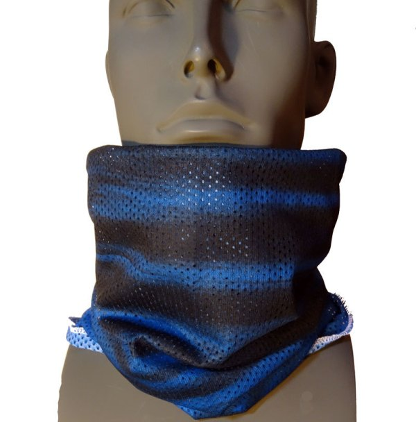 AVALON7 Mesh Tshield blue snowboaridng facemask
