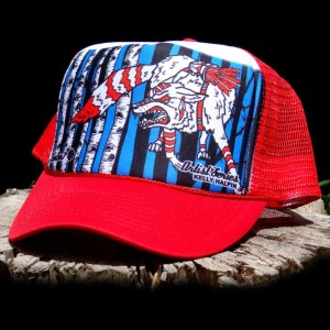 AVALON7 Coyote Warrior Trucker Hat by Kelly Halpin