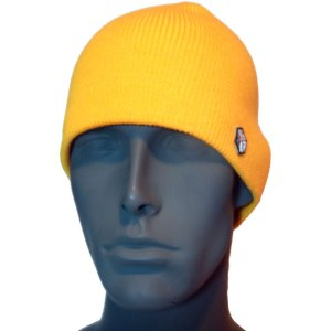 avalon7 warm yellow winter snowboarding skiing beanie