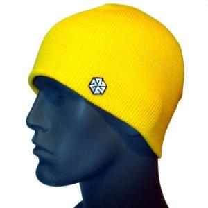 avalon7 warm yellow winter snowboarding skiing beanie