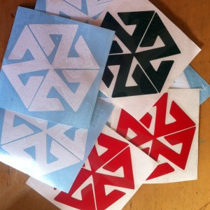 avalon7 DIE CUT STICKER PACK