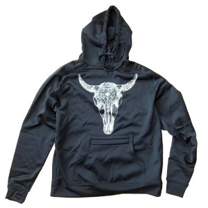 AVALON7 Celestial Bison Tech Hoodie