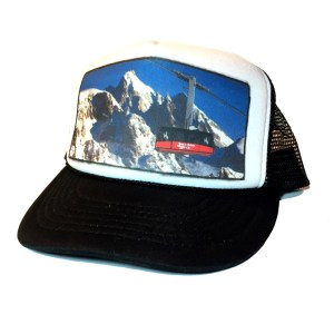 AVALON7 Teton Tram Jackson Hole Trucker Hat