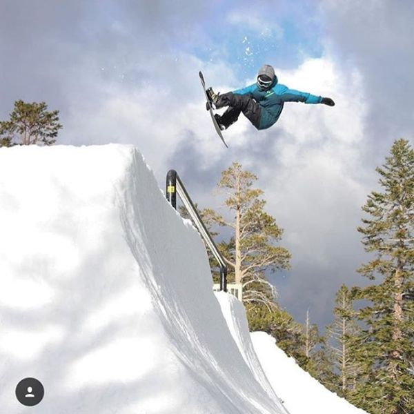 AVALON7 Renegade Cam Fitzpatrick ripping the Jackson Hole halfpipe