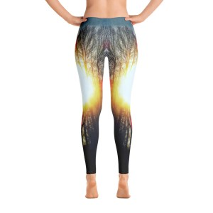 AVALON7 yoga pants leggings- cottonwood sunburst