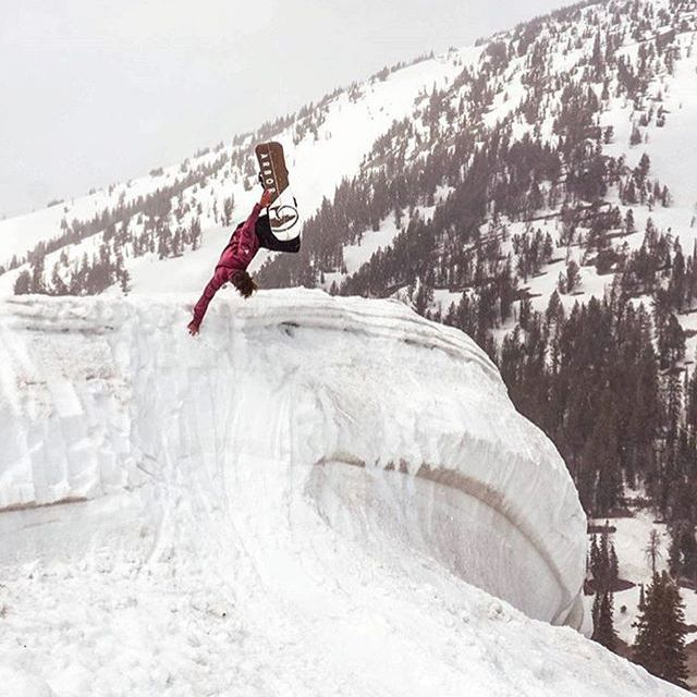 @jah_he finds new perspective at the top of Teton Pass.  #AVALON7 #LiveActivated #snowboarding www.a-7.co