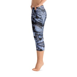 Driftwood Daydream Artist Series Capri Yoga Pants by AVALON7