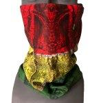 RastaWood bonded fleece faceshield warm facemask