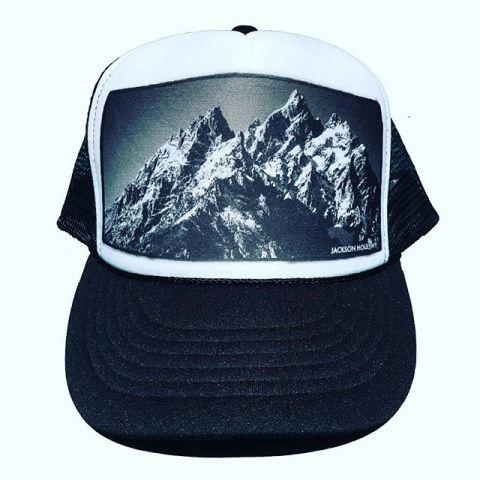 Mountain minded.  #handcraftedintheTetons #truckerhat #seekthestoke www.avalon7.com